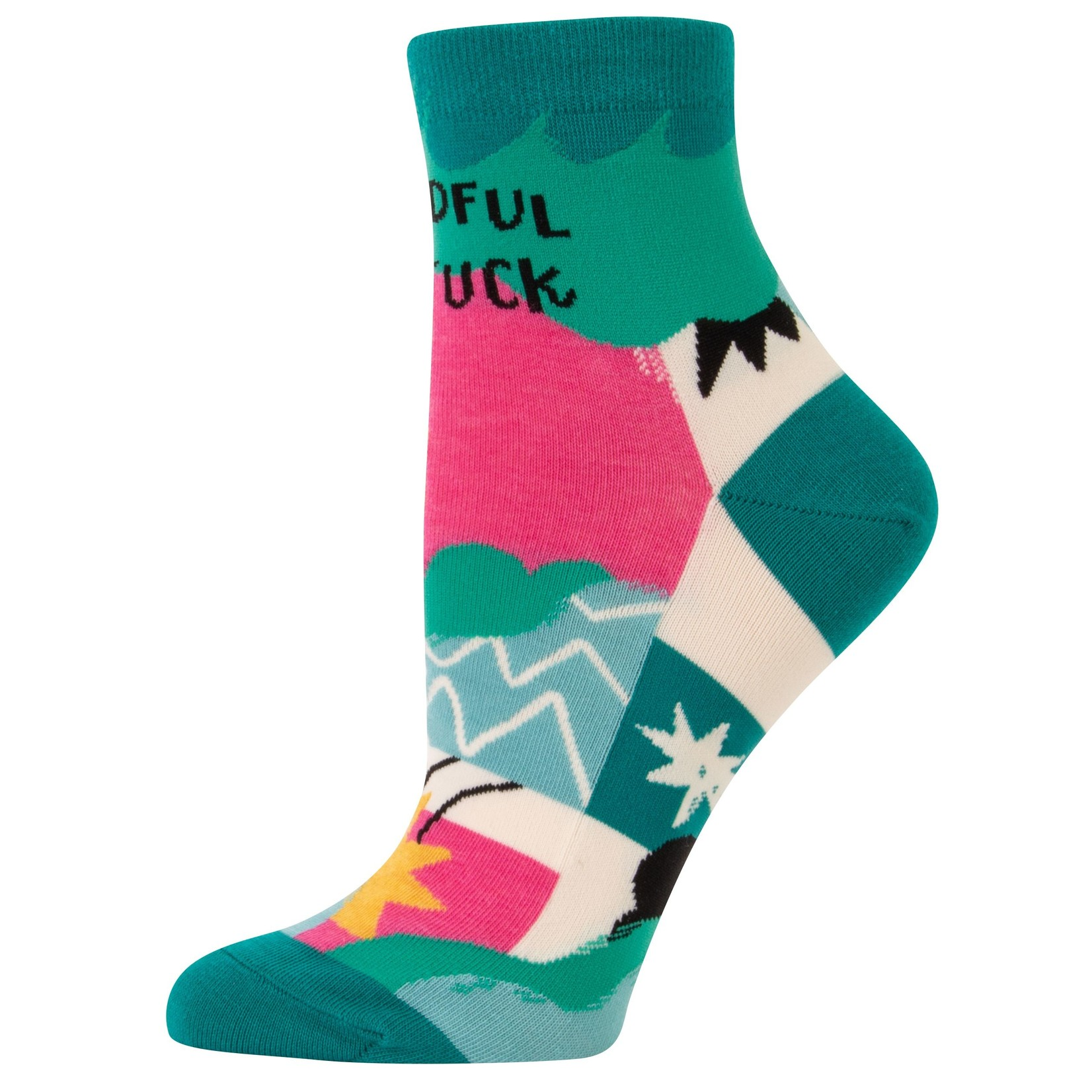 Blue Q Mindful as F*ck W - Ankle Sock