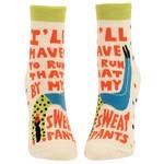 Blue Q My Sweatpants W - Ankle Socks