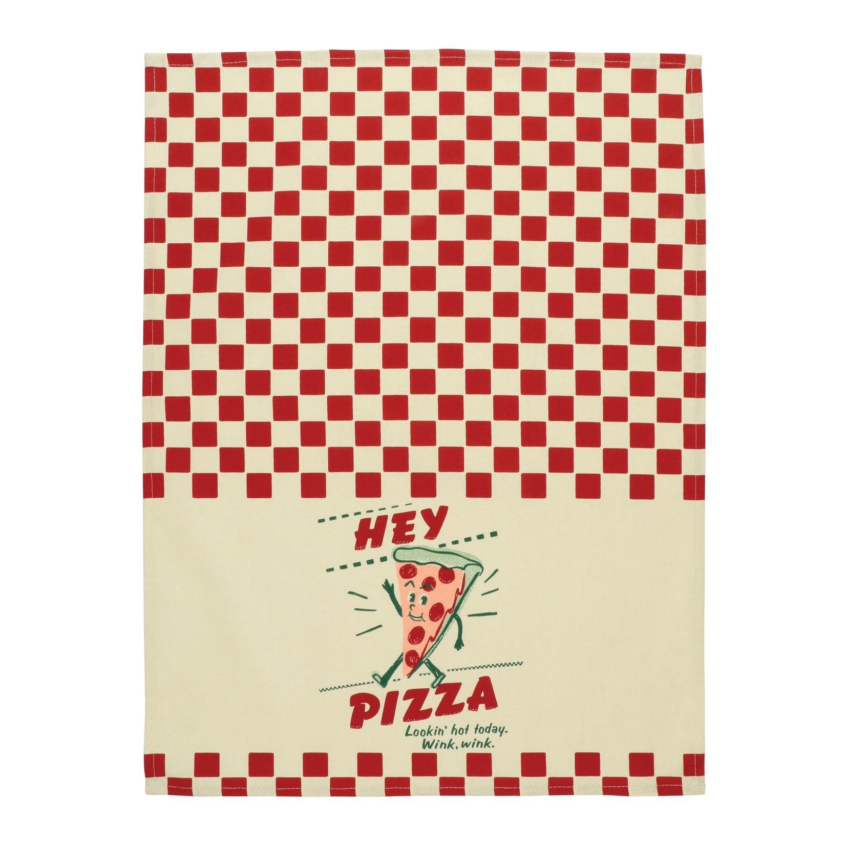 Blue Q Hey Pizza Dish Towel