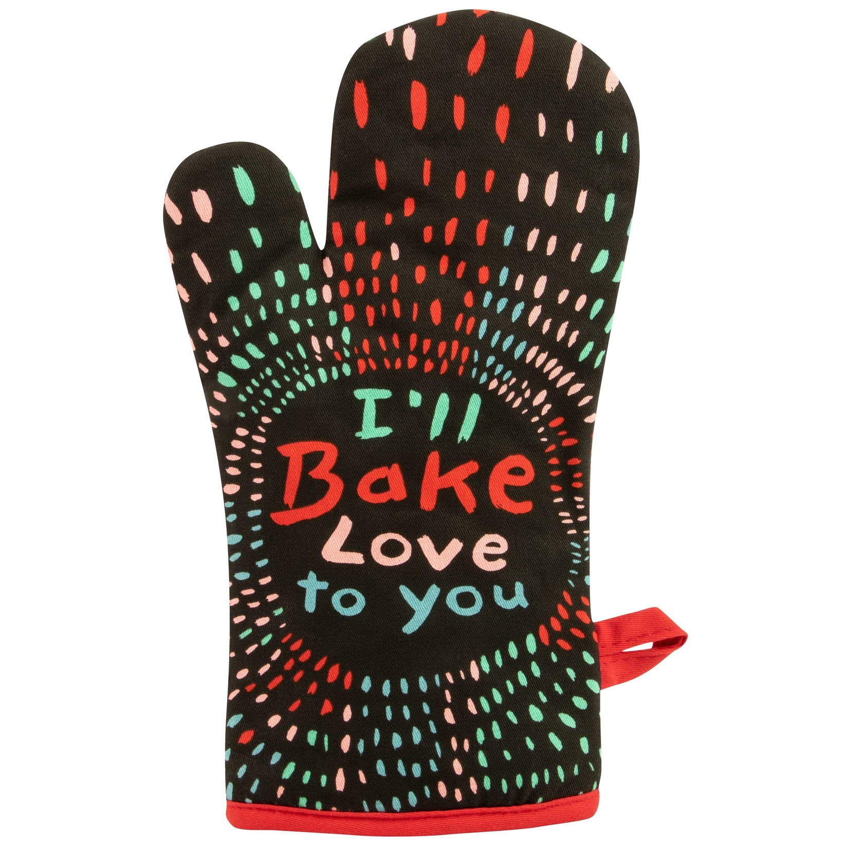 Blue Q Bake Love To You Oven Mitt