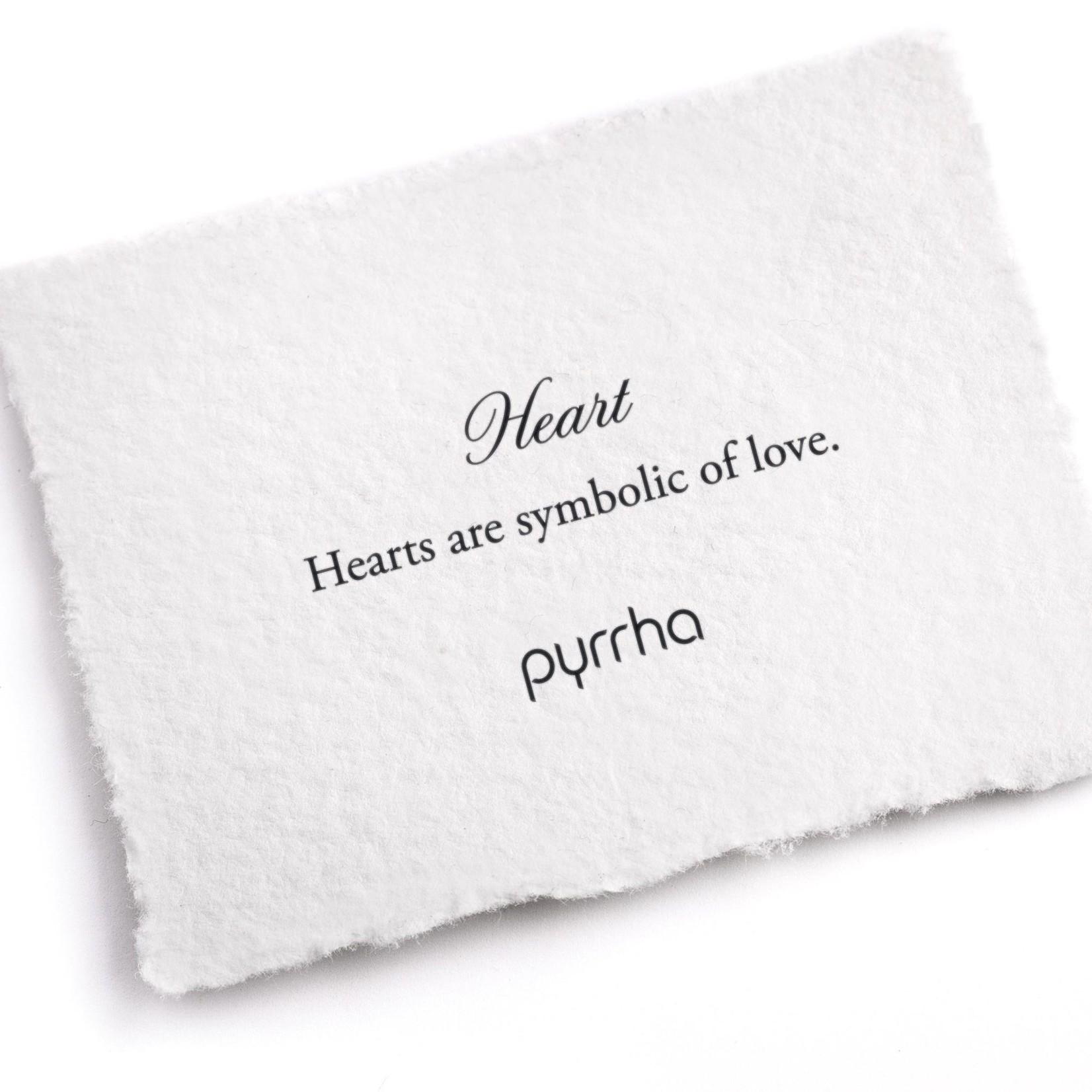 Pyrrha Heart Symbol Charm