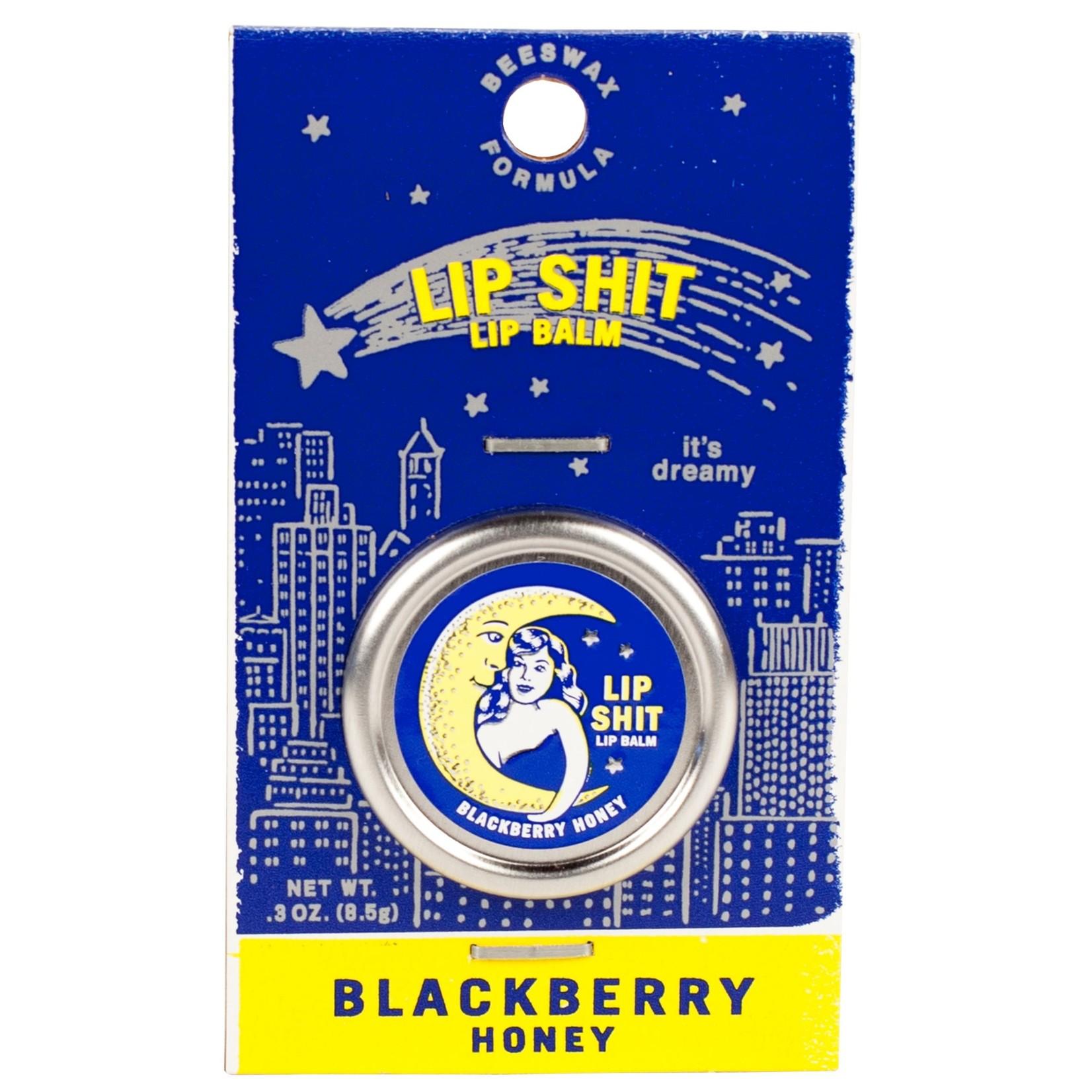 Blue Q Blackberry Honey Lip Shit