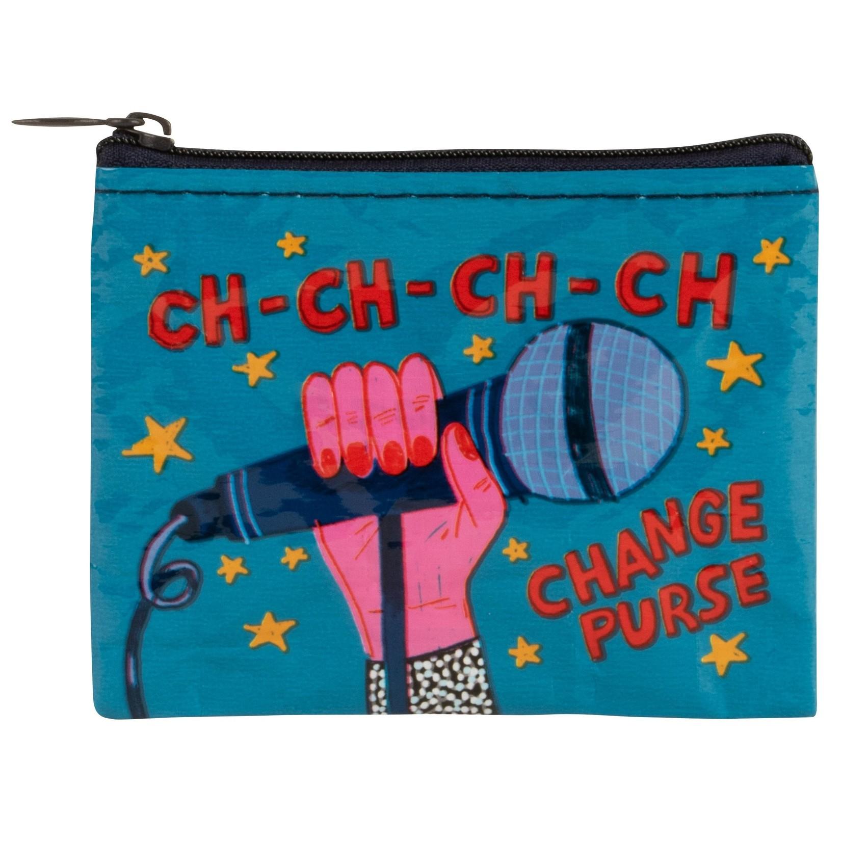 Blue Q Ch-Ch-Ch-CH-Change Purse Coin Purse