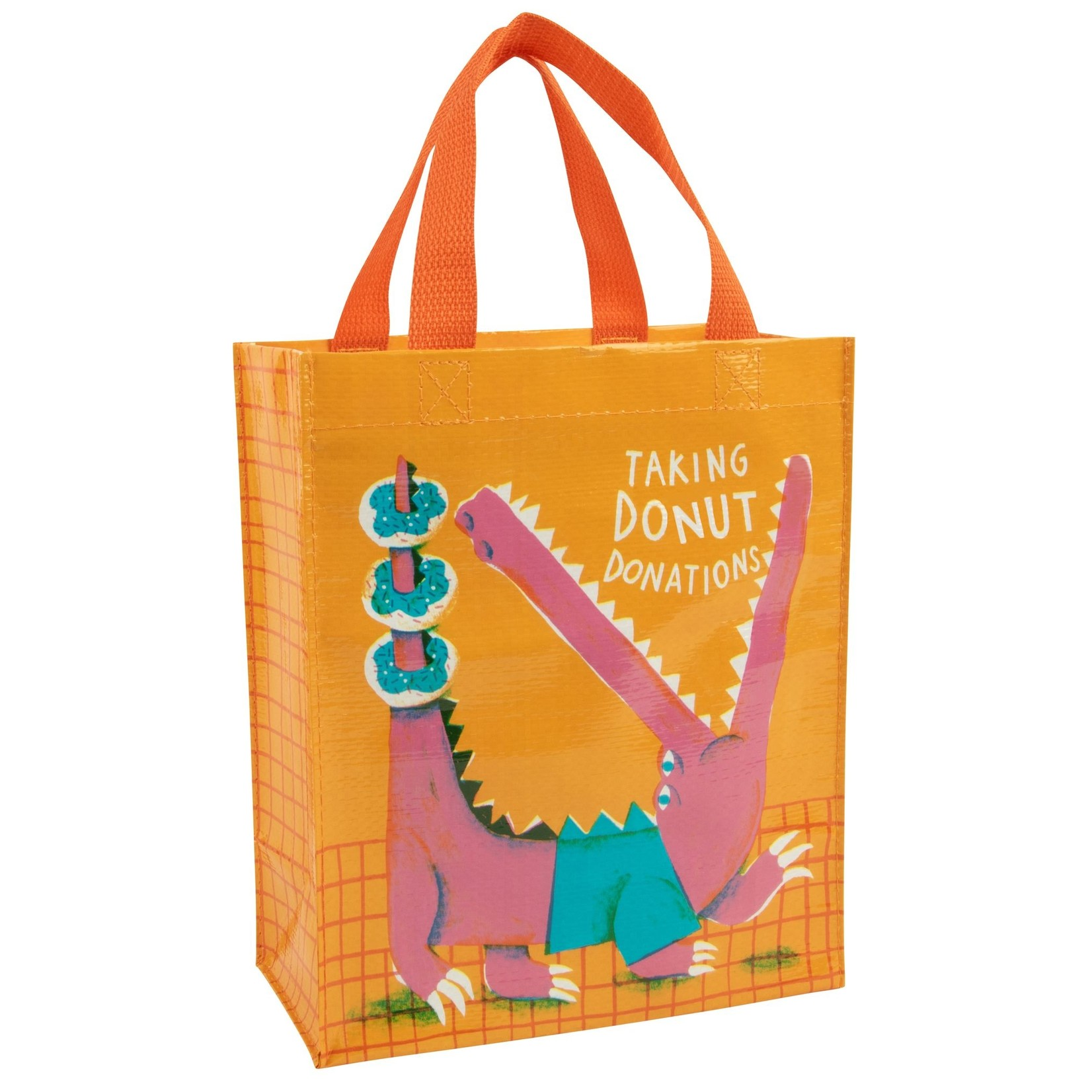 Blue Q Donut Donations Handy Tote