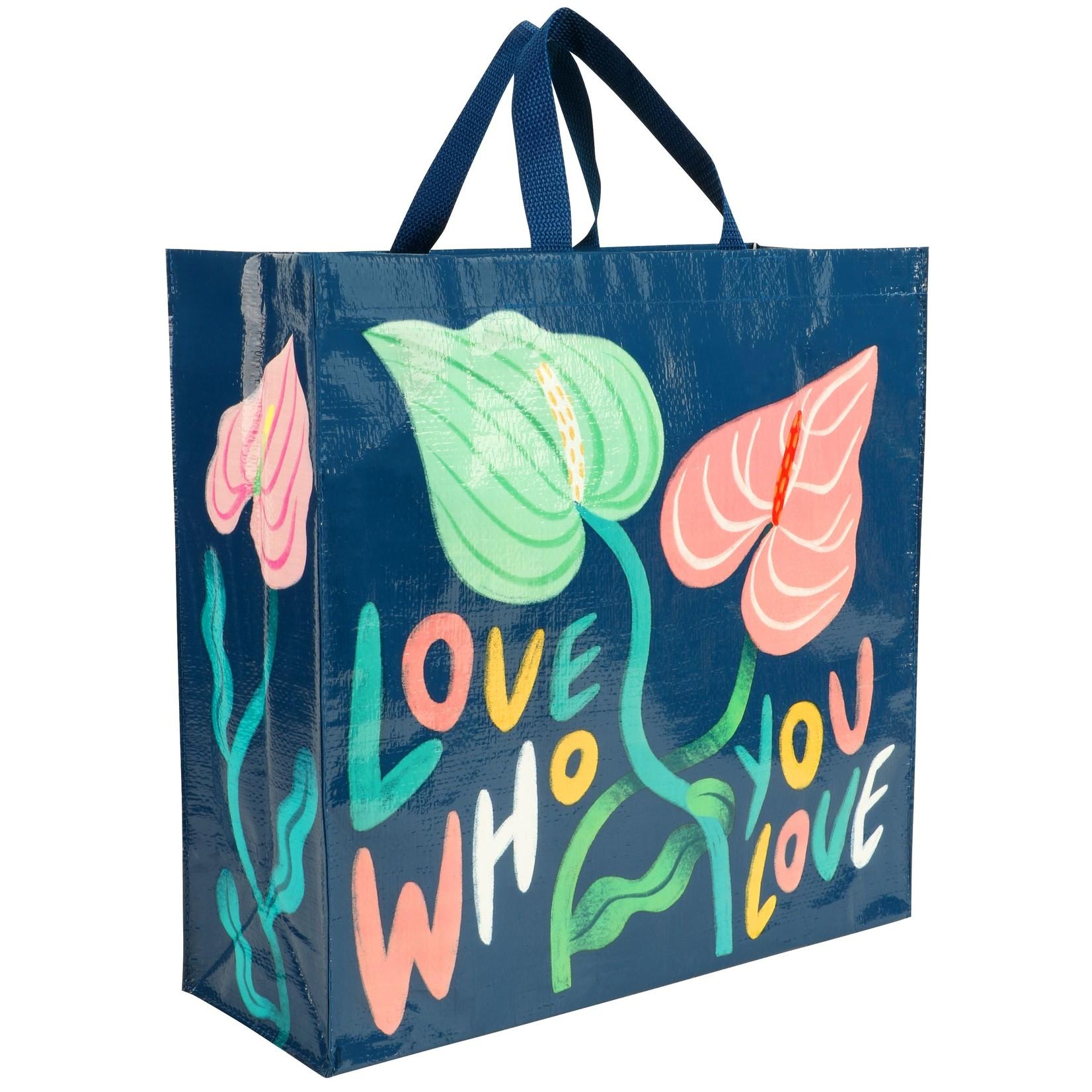 Blue Q Love Who You Love Shopper
