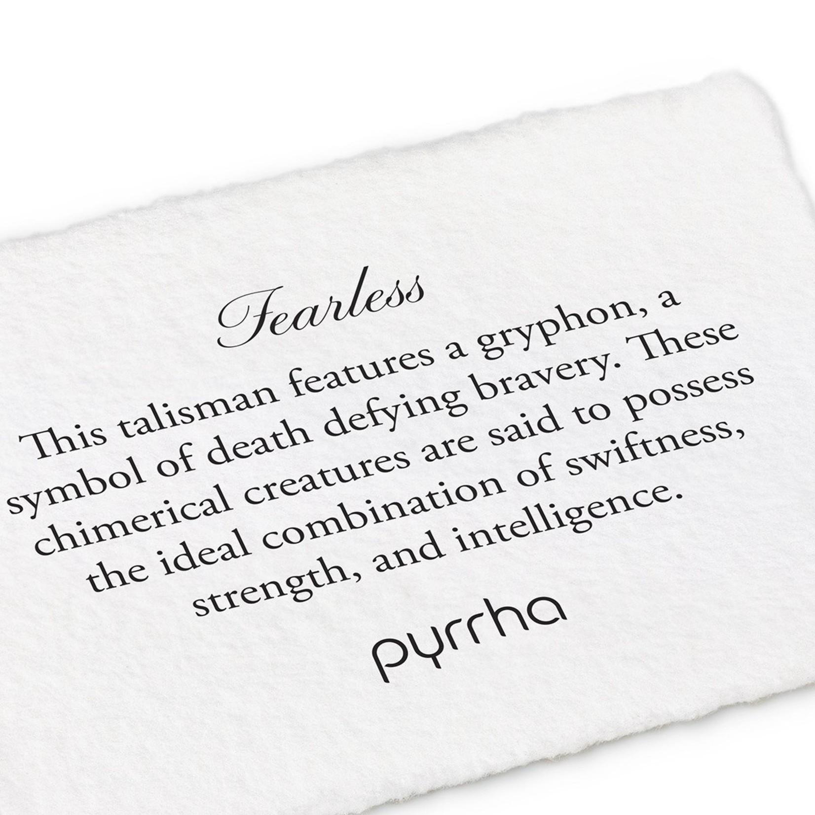 Pyrrha Fearless Signature Talisman