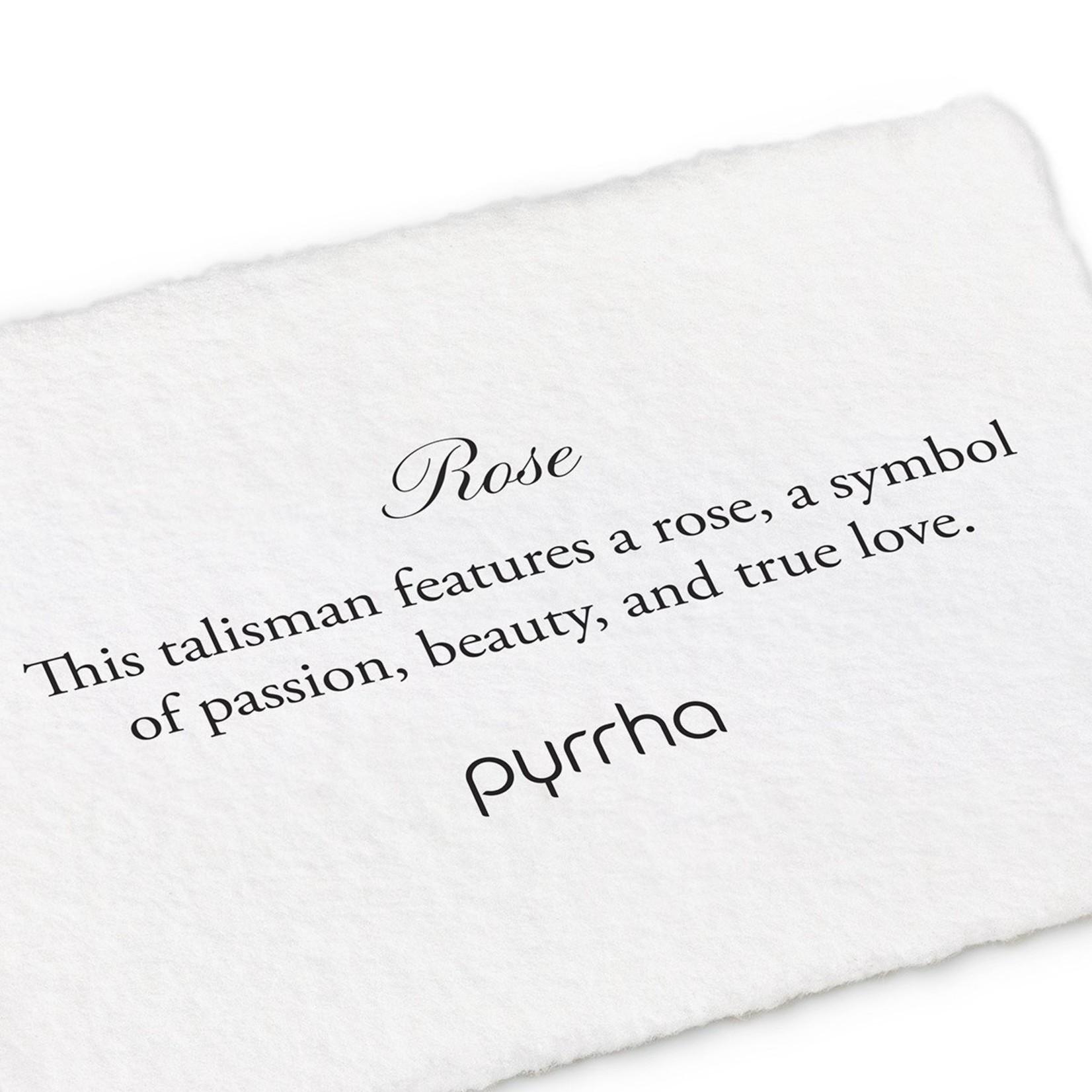 Pyrrha Rose Mini Talisman Ring