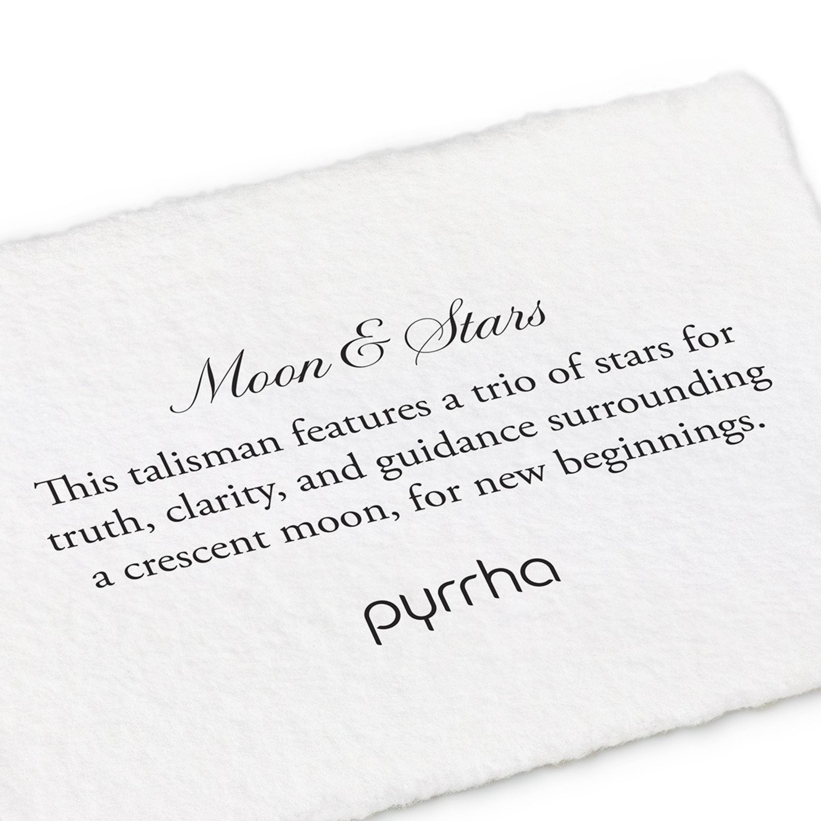 Pyrrha Moon & Stars Mini Talisman Ring