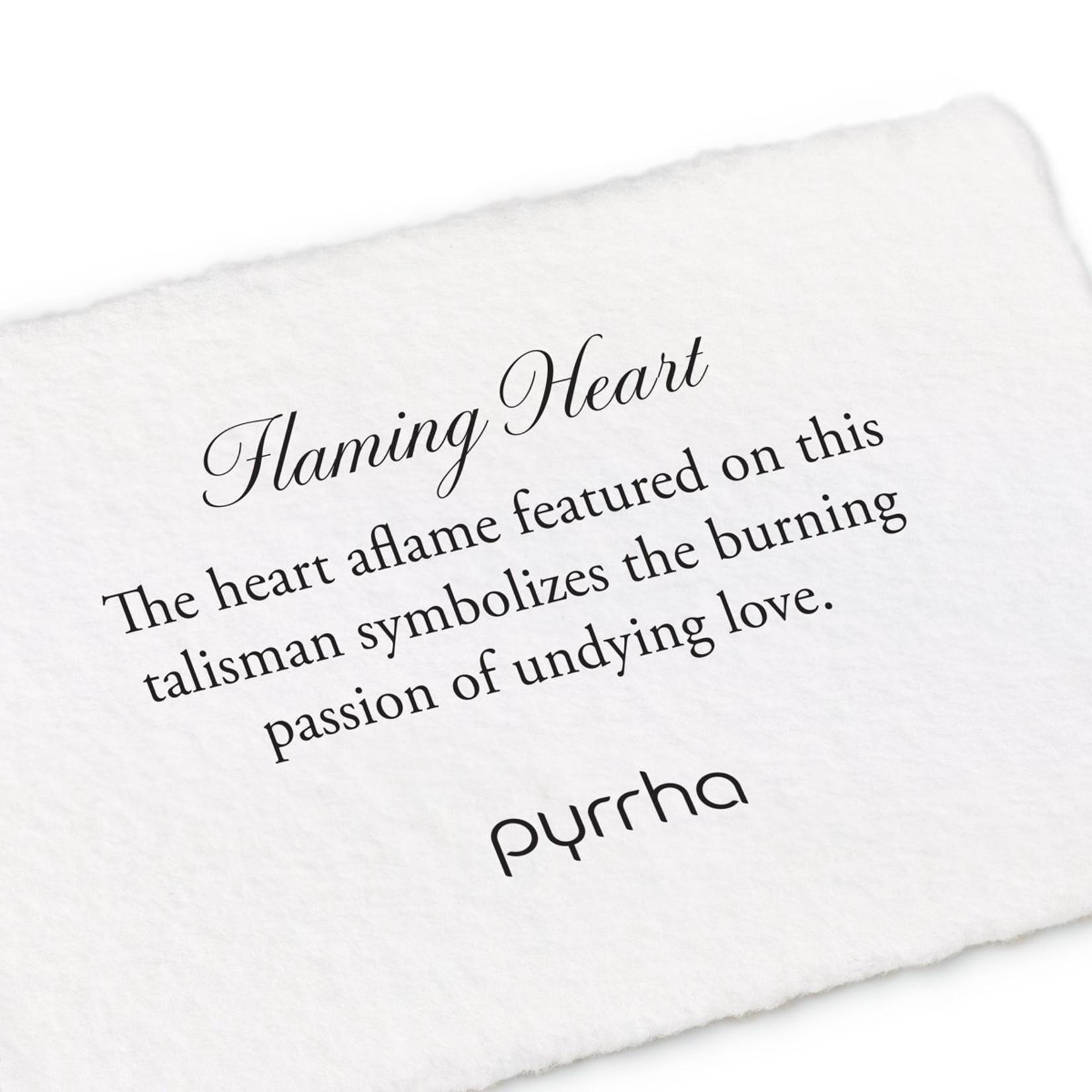 Pyrrha Flaming Heart Signature Talisman