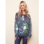 Charlie B Reversible Printed Sweater