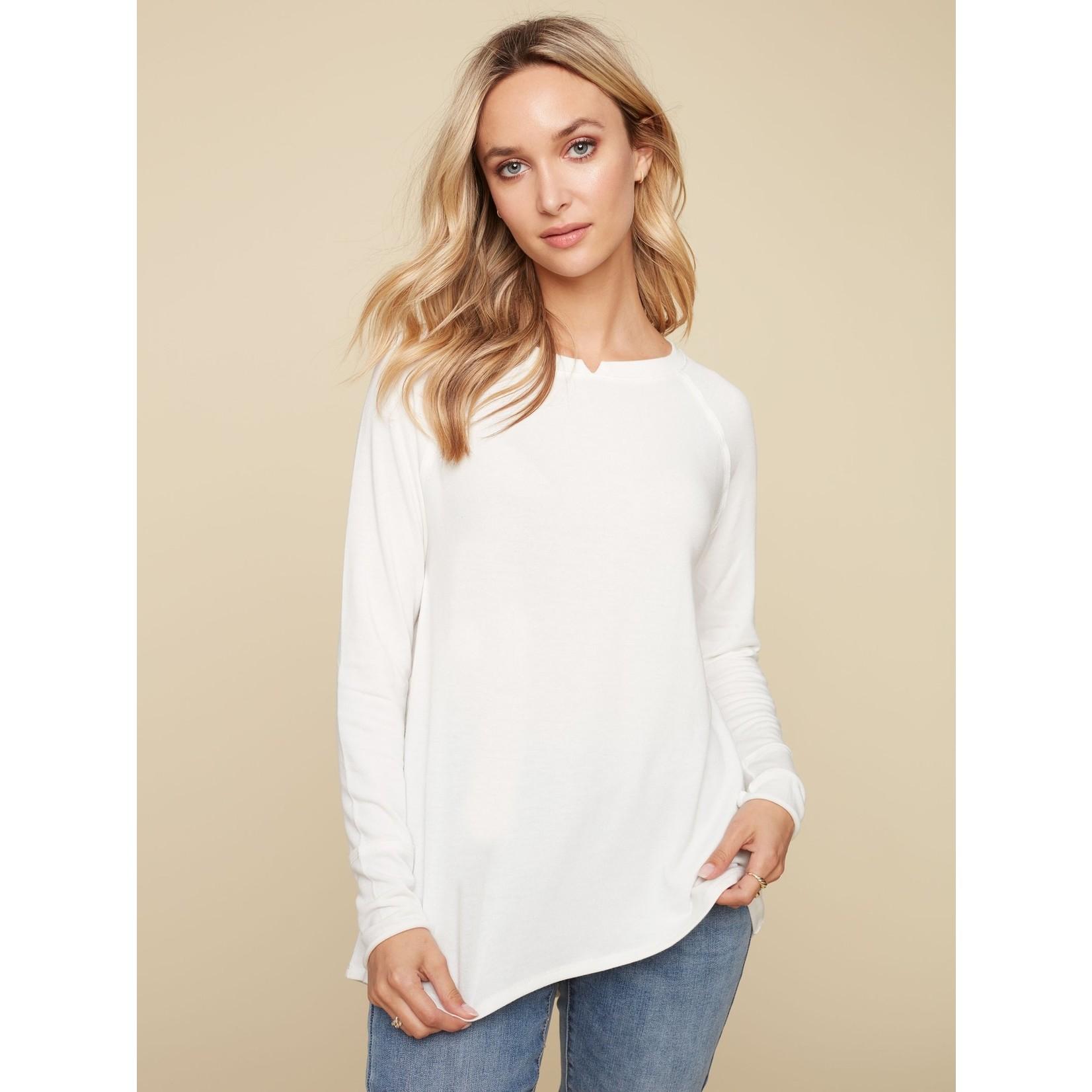 Charlie B Raglan Sleeve Soft Jersey Top