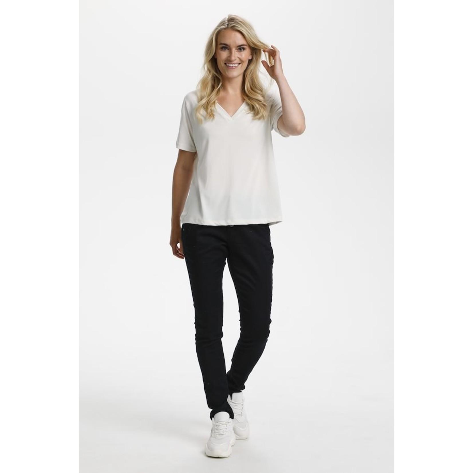 Cream Modala T-Shirt