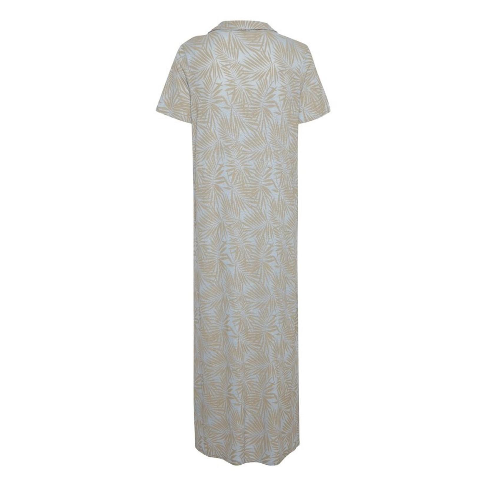 Cream Luna Jersey Dress