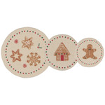 Now Designs Holiday Mini Bowl Cover Set