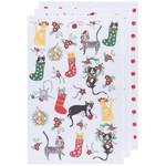 Now Designs Baker's Floursack Holiday Dishtowels