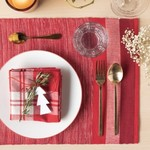 Now Designs Recycled Cotton Placemat Set (4)