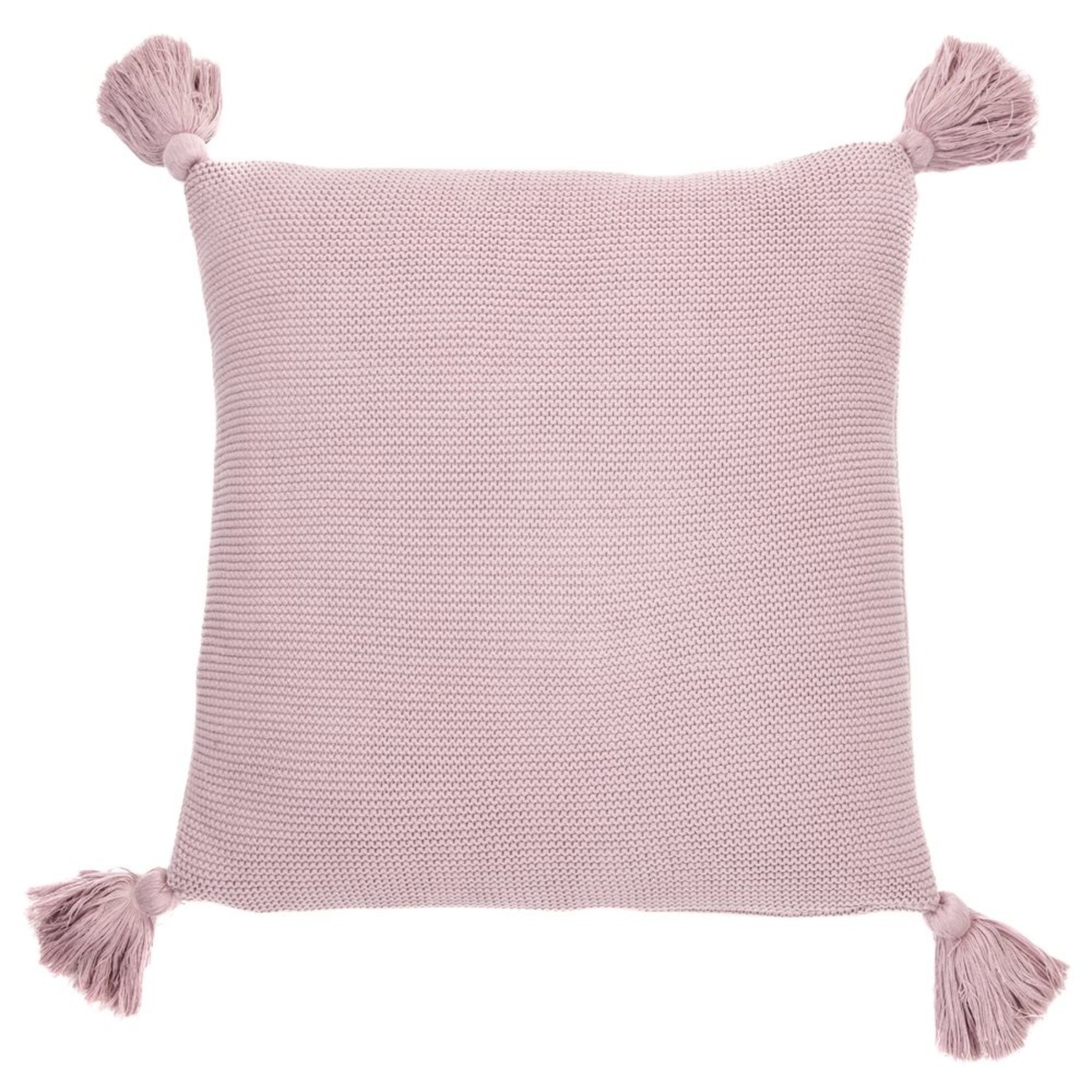Brunelli Lyla Knitted Lilac Cushion