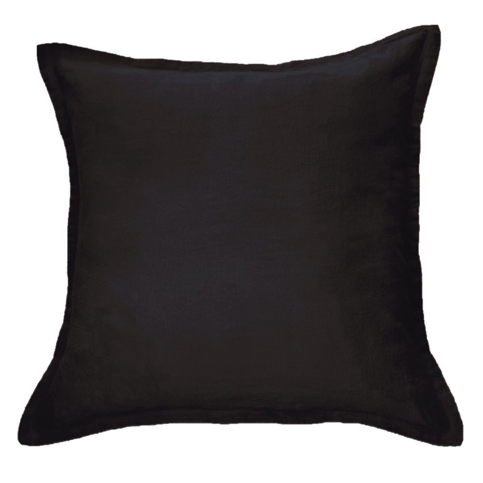 Brunelli Linen Pillow Sham Black