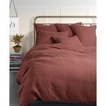 Brunelli Linen Duvet Cover Terracotta
