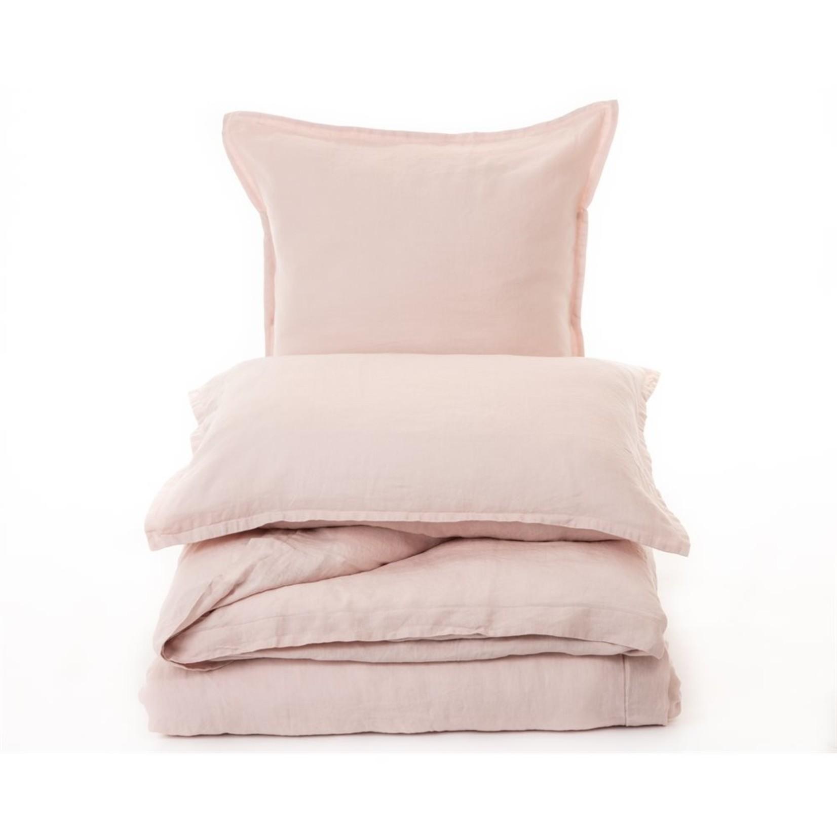Brunelli Linen Pillow Sham Pink Blush