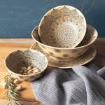 Heirloom Mandala Stamped Bowl
