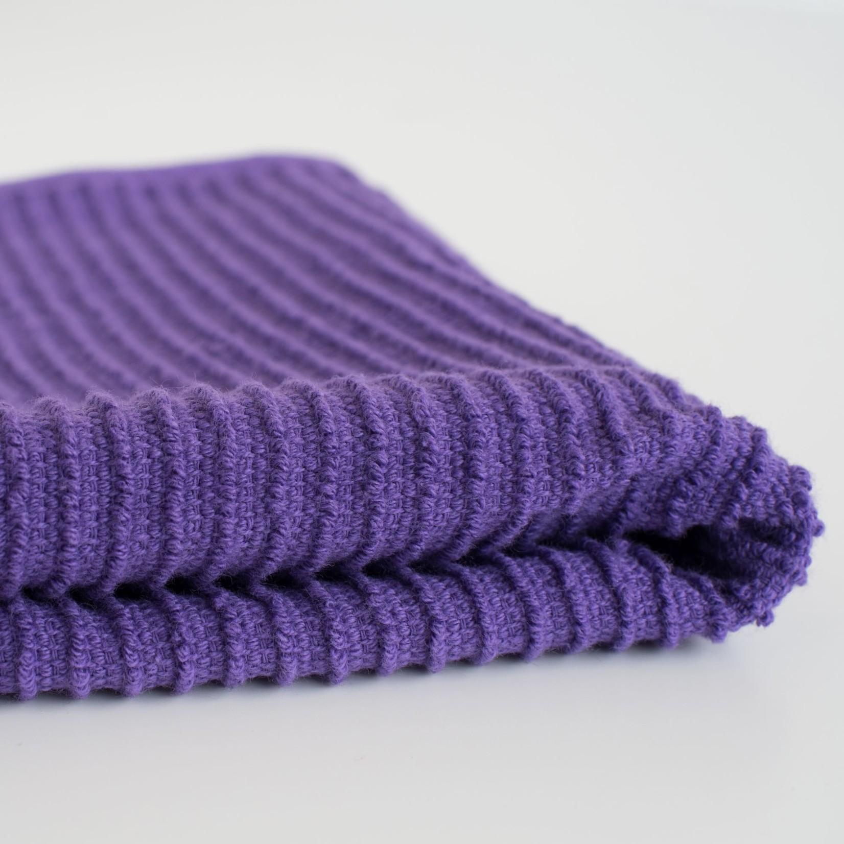 Now Designs Prince Purple Ripple Dishcloth