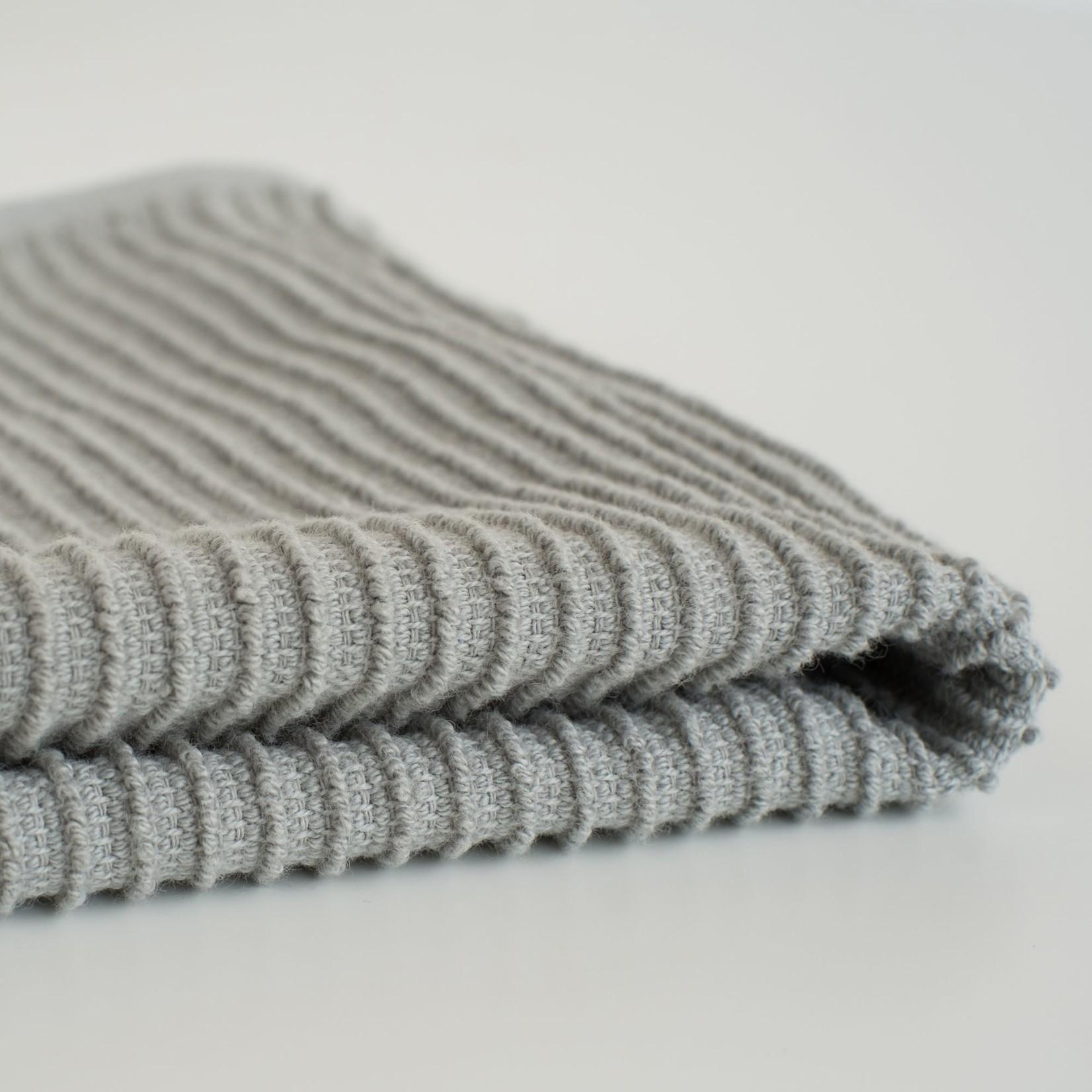 Now Designs London Gray Ripple Dishcloth