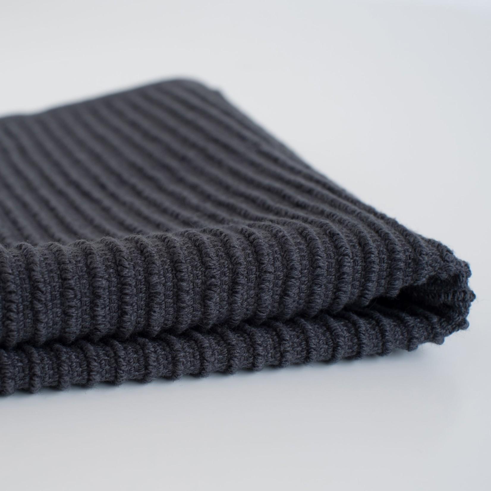 Now Designs Black Ripple Dishcloth