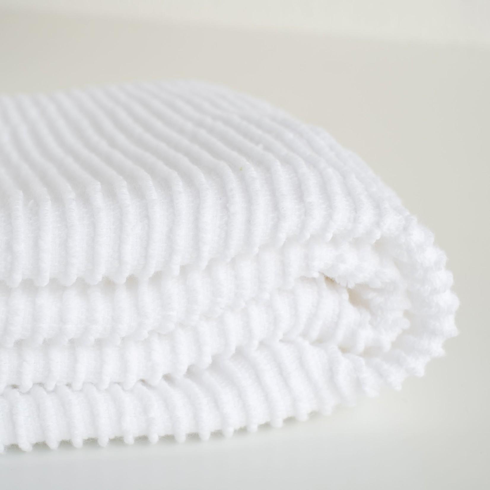 Now Designs  White Ripple Dishcloth