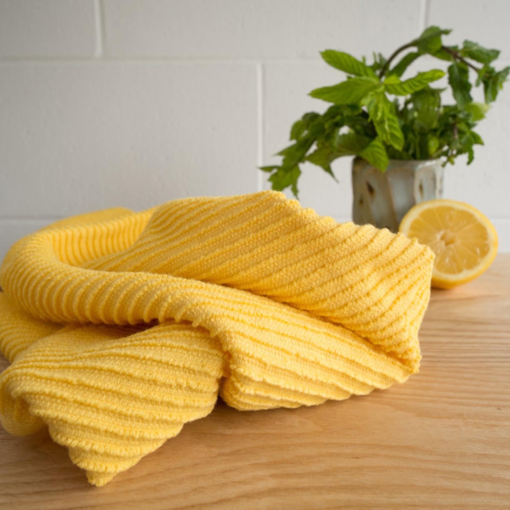 Now Designs Lemon Ripple Dishtowel