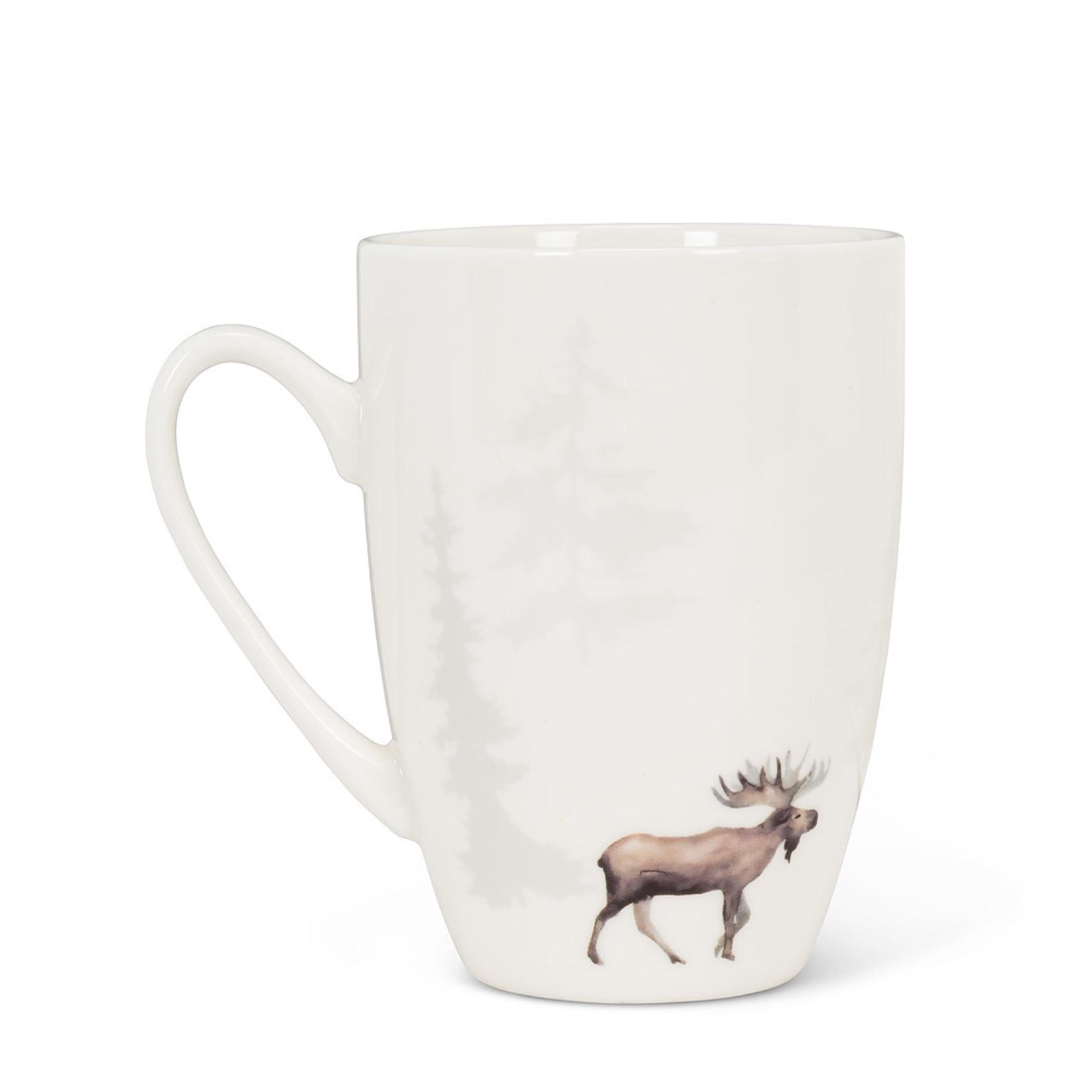 Abbott Moose In Forest Mug