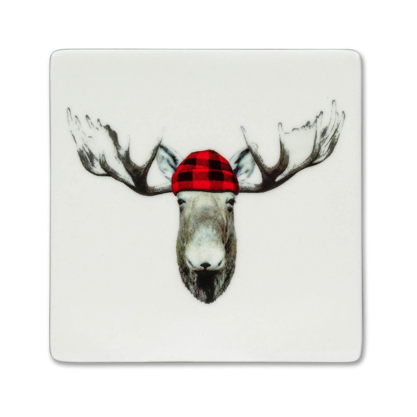 Abbott Jack Moose Coaster