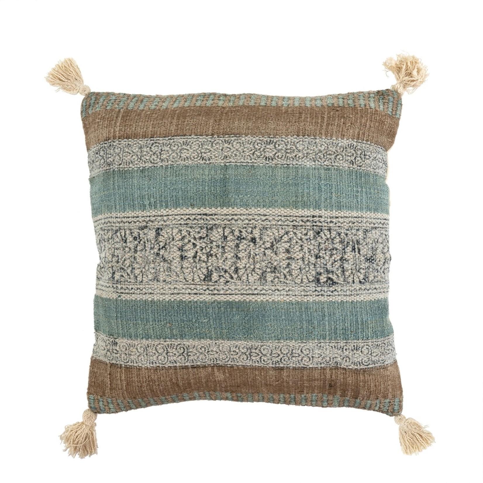 """Indaba Costa Pillow 24""""x24"""""""
