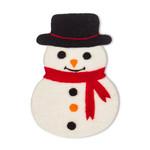 Abbott Felted Snowman Trivet