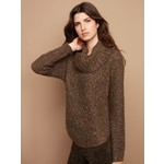 Charlie B Cable Knit Turtleneck Sweater