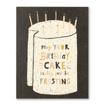 Love Muchly May Your Birthday Cake Really Just Be Frosting