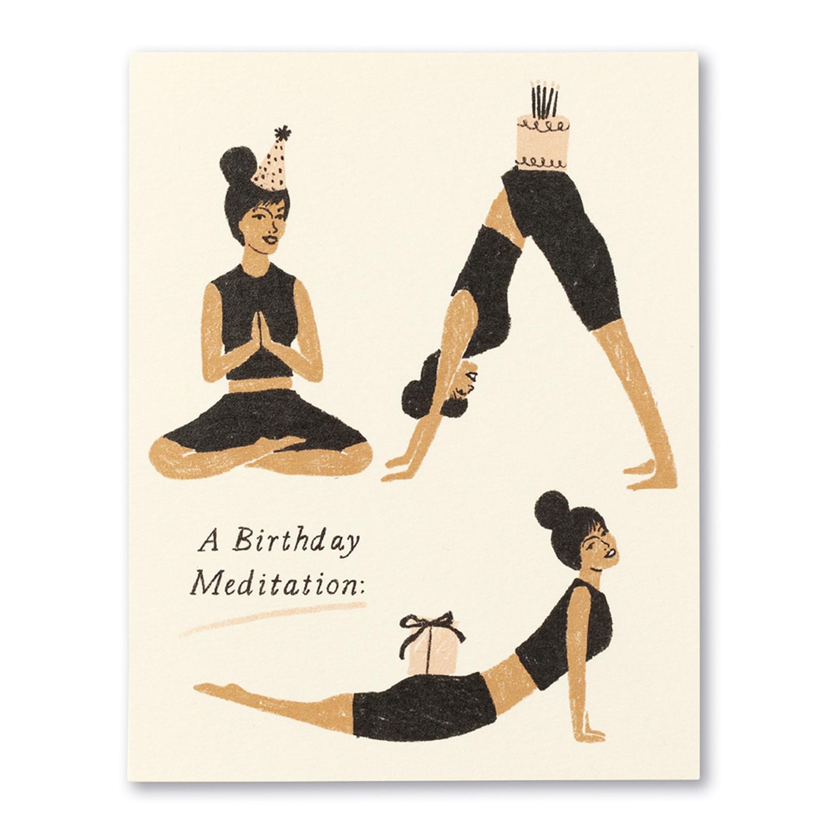 Love Muchly A Birthday Meditation