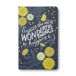Compendium Expect the Most Wonderful Things to Happen - Write Now Journal