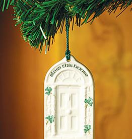 ORNAMENTS BELLEEK HOUSE BLESSING DOOR ORNAMENT