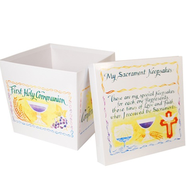RELIGIOUS SACRAMENTS KEEPSAKE BOX