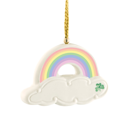 ORNAMENTS BELLEEK RAINBOW ORNAMENT