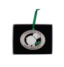 BABY ACCESSORIES IRISH WEE LITTLE ONE CRIB MEDAL