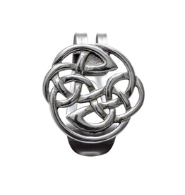 KEYCHAINS/CAR/ETC CELTIC KNOT VISOR CLIP