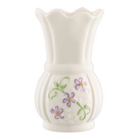 VASES & BOWLS BELLEEK IRISH FLAX MINI VASE