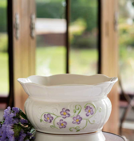 VASES & BOWLS BELLEEK IRISH FLAX BOWL