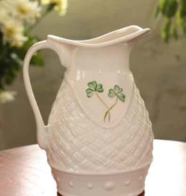 LIMITED EDITION BELLEEK BASKETWEAVE PITCHER 2010 EVENT PIECE