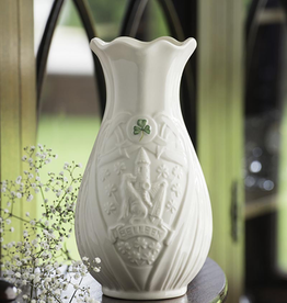 "LIMITED EDITION BELLEEK TRADEMARK 7"" VASE"