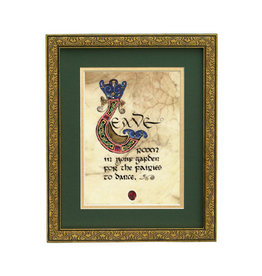 """PLAQUES, SIGNS & POSTERS CELTIC MANUSCRIPT 8x10 PLAQUE - """"LEAVE ROOM IN YOUR GARDEN"""""""