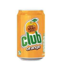 BOTTLE/CAN BEVERAGES CLUB ORANGE (330ml)