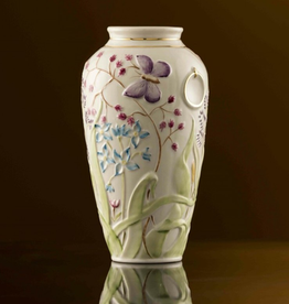LIMITED EDITION PAPILLION VASE - (1987-1997) BELLEEK ARCHIVE COLLECTION